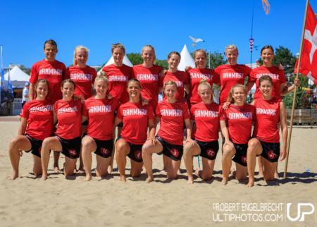 Команда Denmark натурнире WCBU 2017 (Women's, 5/16)