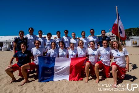 Команда France натурнире WCBU 2017 (Women's, 8/16)