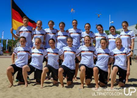 Команда Germany натурнире WCBU 2017 (Women's, 9/16)