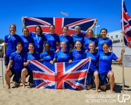 Команда Great Britain натурнире WCBU 2017 (Women's, 3/16)