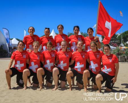 Команда Switzerland натурнире WCBU 2017 (Women's, 6/16)