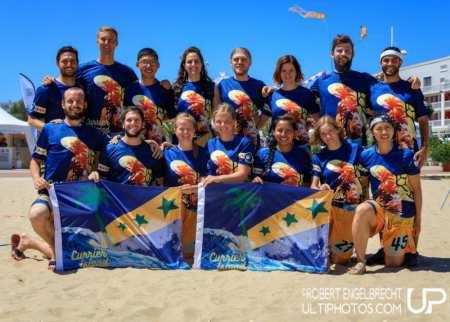 Команда Currier Island натурнире WCBU 2017 (Mixed, 30/32)