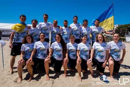Команда Ukraine натурнире WCBU 2017 (Mixed, 16/32)