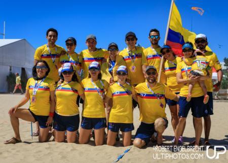 Команда Colombia натурнире WCBU 2017 (Master Mixed, 10/12)