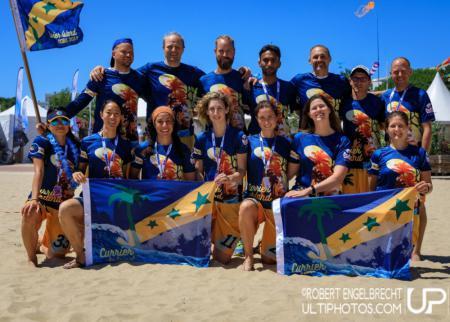 Команда Currier Island натурнире WCBU 2017 (Master Mixed, 11/12)