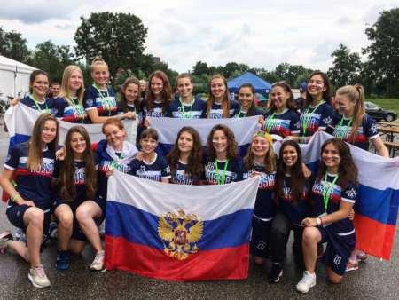 Команда Russia натурнире EYUC 2017 (Women U20, 2/15)