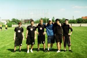 Команда Underdog натурнире Брест без границ 2010 (ОД, 5/14)