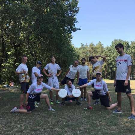 Команда Gigolo Black натурнире SummerDown 2017 (ОД, 3/6)