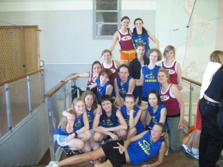 Команда Молодые натурнире Лорд Новгород 2007 (ЖД, 2/9)