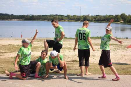 Команда Lynxes Green натурнире Gomel BUC 2017 (МД, 4/8)