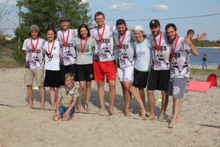 Команда Lynxes White натурнире Gomel BUC 2017 (МД, 6/8)