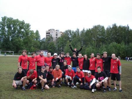 Команда Долгорукие натурнире ОЧР 2007 (ОД, 3/12)