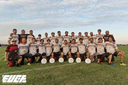 Команда Cotarica Grandes натурнире EUCF 2017 (ОД, 20/24)