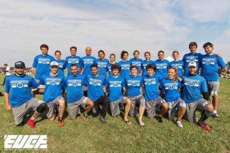 Команда Sesquidistus натурнире EUCF 2017 (МД, 9/12)