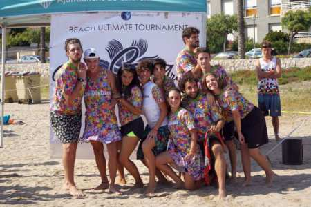 Команда Las Divinas натурнире Calafell Arena 2017 (МД, 7/32)
