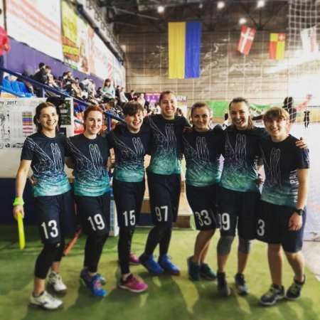 Команда Dyki Krali натурнире Lubart Ultimate Cup 2017 (ЖД, 3/6)