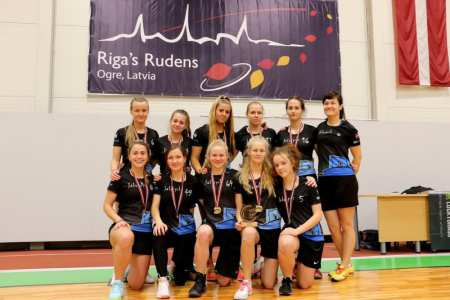 Команда Salaspils FK натурнире Rigas Rudens 2017 (Women, 1/17)