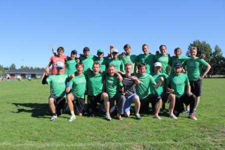 Команда Лаки Грасс натурнире EUCR North 2013 (ОД, 7/9)