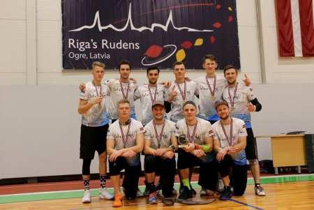 Команда Salaspils WT натурнире Rigas Rudens 2017 (Open, 1/25)