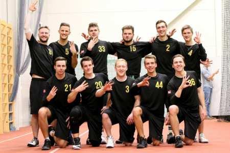 Команда Ventspils Ultimate натурнире Rigas Rudens 2017 (Open, 3/25)