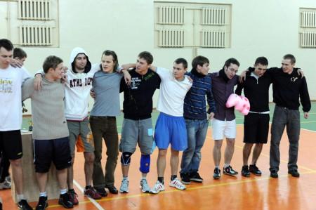 Команда x3 натурнире Winter Brest 2009 (ОД, 1/10)