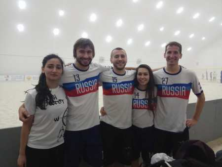 Команда RusMixed натурнире Зимняя Пляжная Лига 2017 (МД, 1/15)