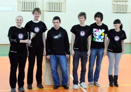 Команда Underdog натурнире Winter Brest 2009 (ОД, 2/10)