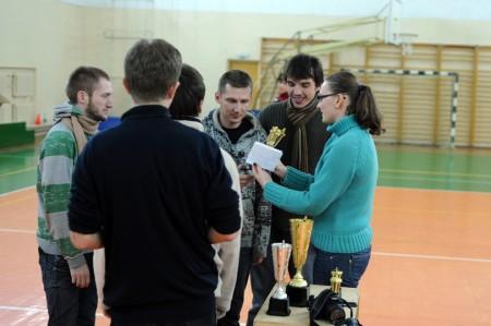 Команда Спинин натурнире Winter Brest 2009 (ОД, 3/10)