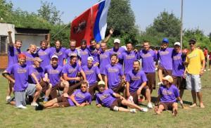 Команда Stoly Ultimate натурнире WUCC 2010 (ОД, 34/48)