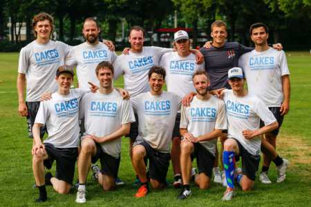 Команда Camboo Cakes на турнире Disc Days Cologne 2017 (ОД, 7/16)