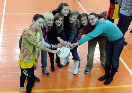 Команда Феникс W натурнире Winter Brest 2009 (ОД, 10/10)