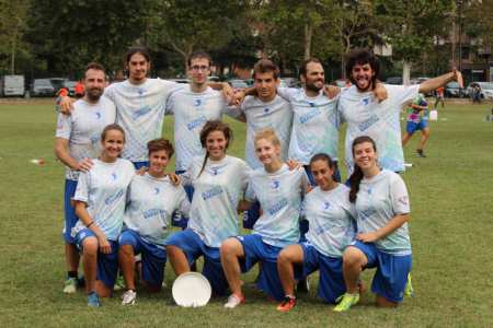 Команда Bubba - Ultimate CUS Brescia натурнире Madunina 2017 (МД, 7/20)