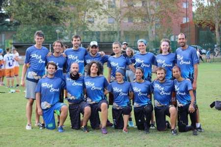 Команда Take A Break - Ultimate frisbee натурнире Madunina 2017 (МД, 18/20)