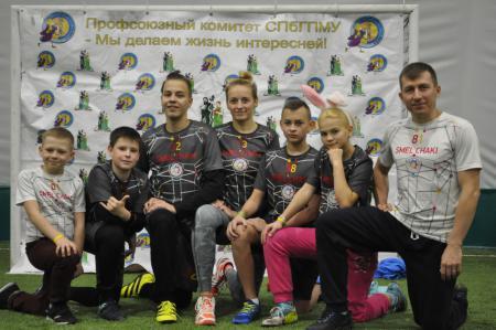 Команда Смельчаки натурнире СЗЛ 2017 (Школьный дивизион, 4/10)