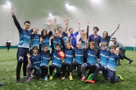 Команда Piter Stars натурнире СЗЛ 2017 (Школьный дивизион, 5/10)