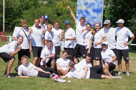 Команда GHD натурнире WUCC 2010 (Микс дивизион, 38/40)