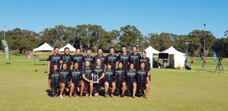 Команда NZL U24 Women's натурнире WU-24 2018 (U24 Women's, 9/11)