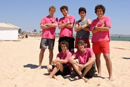 Команда Les Quiches Volantes натурнире Yes BUT Nau 2009 (ОД, 21/26)
