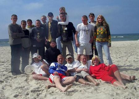 Команда Vorai натурнире Palanga Sands 2004 (ОД, 1/5)