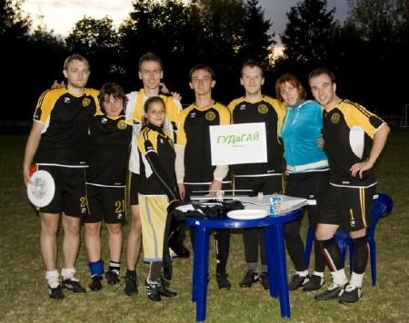 Команда ГУДаГАЙ натурнире Чемпионат Беларуси 2009 (ОД, 4/8)