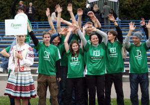 Команда Гринс натурнире Чемпионат Беларуси 2009 (ОД, 6/8)