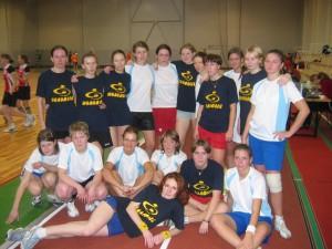Команда Молодые натурнире Rigas Rudens 2004 (ЖД, 6/8)