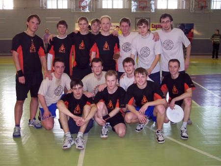 Команда ЮПитер натурнире Лорд Новгород 2005 (ОД, 1/20)