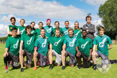 Команда Dublin Gravity натурнире Dublin's Golden Cup 2017 (МД, ?/20)