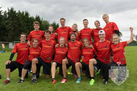 Команда Germany Mixed National Team натурнире Dublin's Golden Cup 2017 (МД, 1/20)