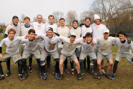 Команда Heidees натурнире Hamburg Rumble 2013 (Men, ?/16)
