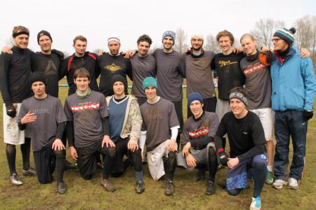 Команда fwd>> натурнире Hamburg Rumble 2013 (Men, ?/16)
