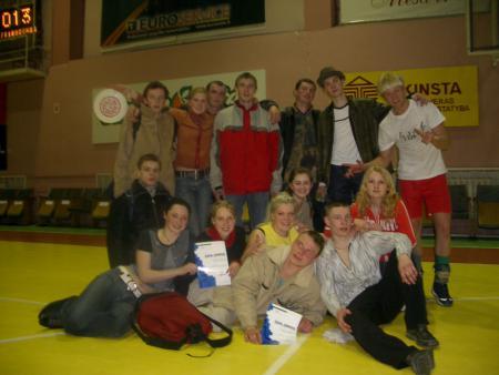 Команда Vorai натурнире UltiFreeze 2005 (ОД, 2/13)