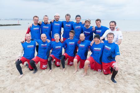 Команда France Grand-Master Beach натурнире Yes But Nau 2013 (Open, 3/20)