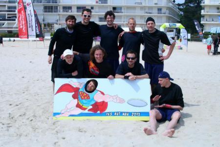 Команда Belgium Master Beach натурнире Yes But Nau 2013 (Open, 9/20)